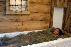 Bagno di fieno id sauna