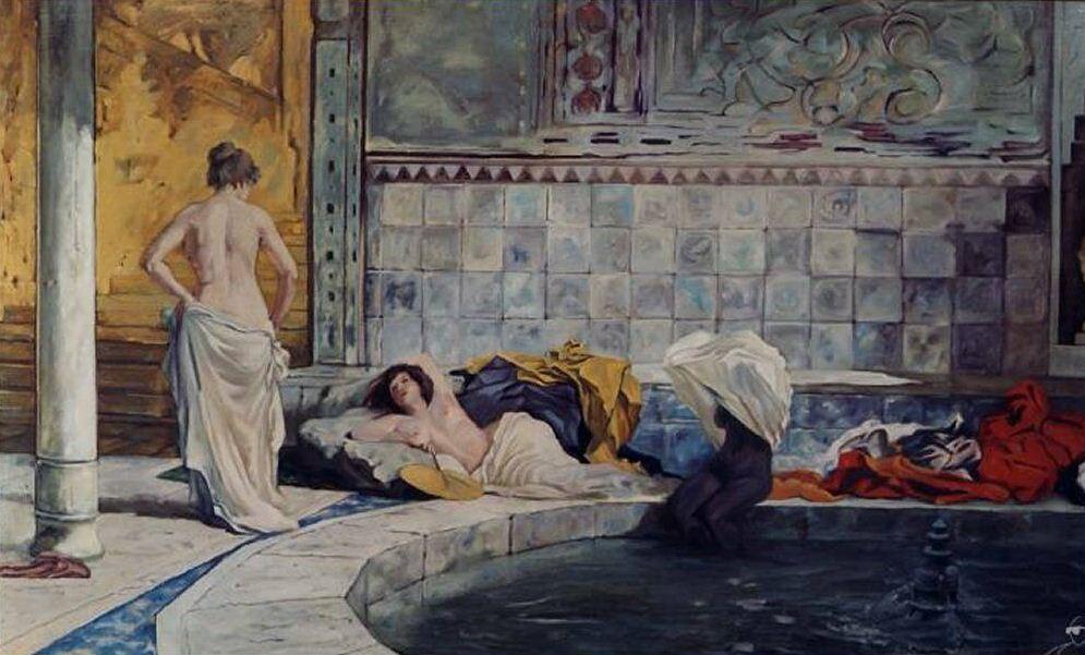 Bagno turco cos 39 e quali vantaggi offre - Il bagno turco dipinto ...