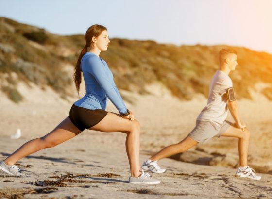 esercizi per tonificare gambe e braccia