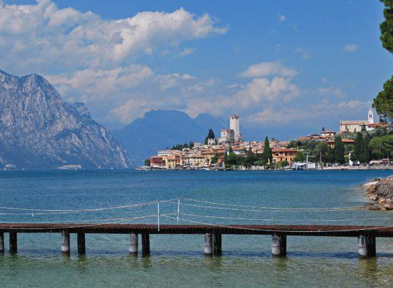 Malcesine, piccolo borgo sul lago di Garda