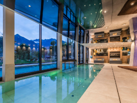 Wellness de luxe in Spa con vista panoramica mozzafiato.