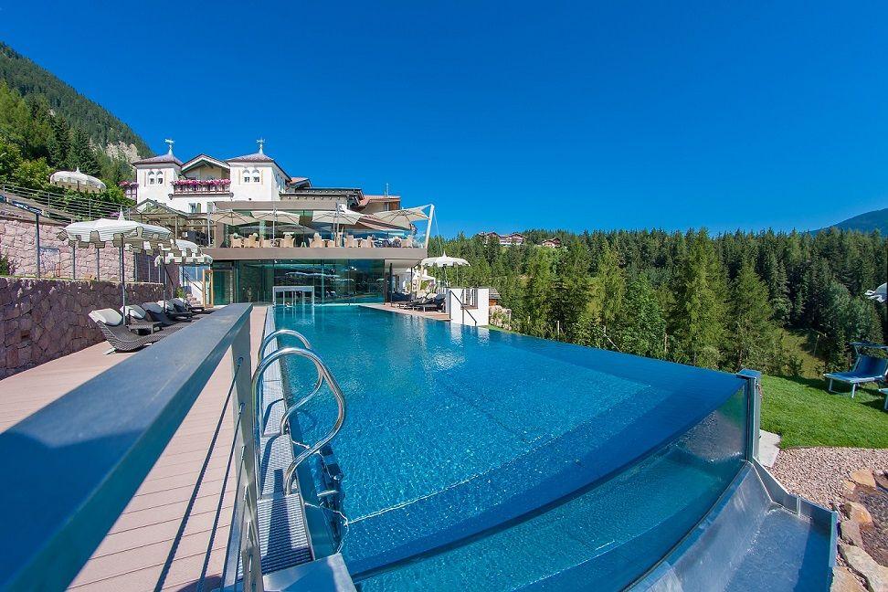 Albion s hotel mountain spa resort dolomites ortisei val gardena trentino alto adige - Hotel castelrotto con piscina ...