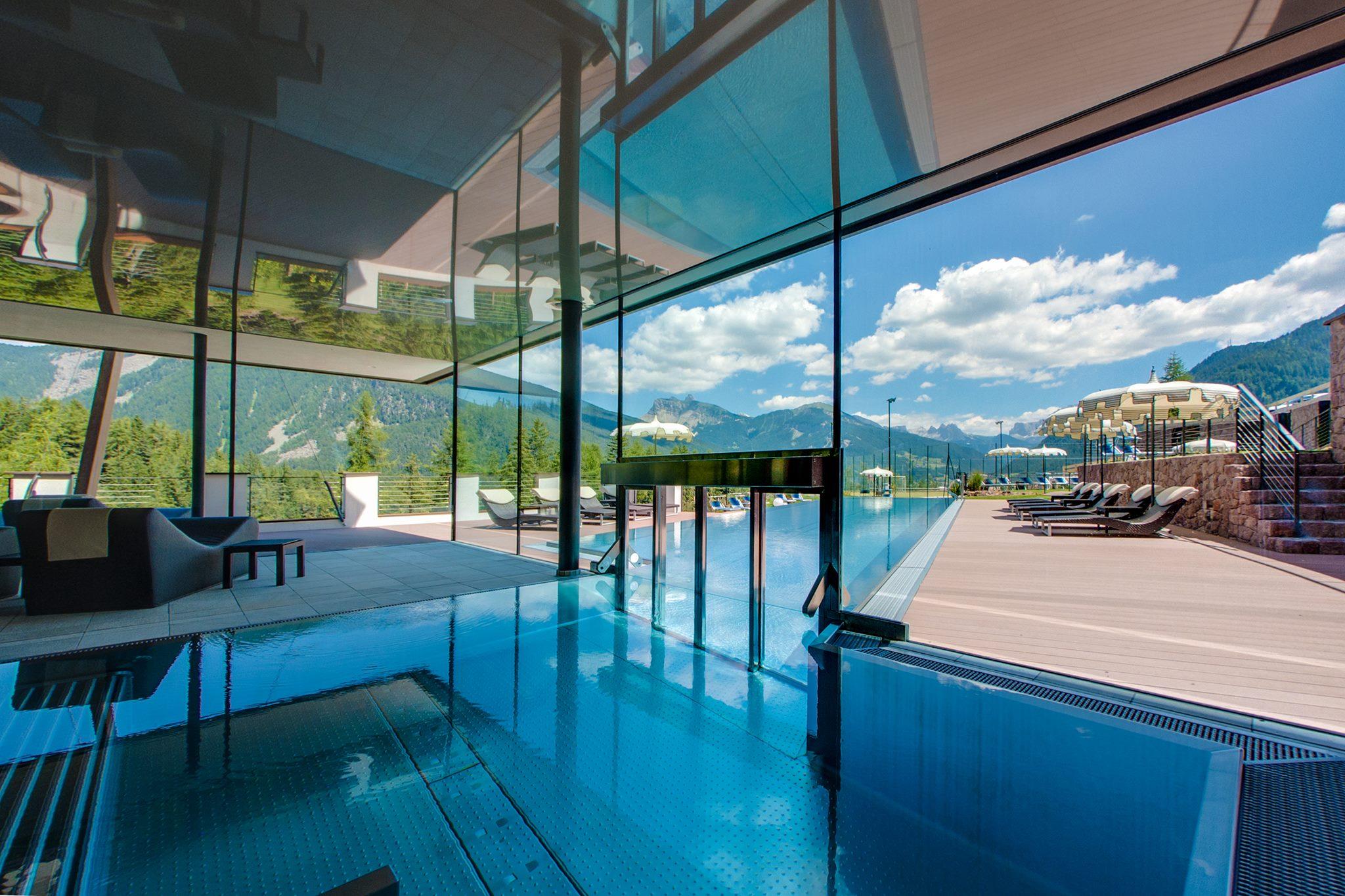 Albion s hotel mountain spa resort dolomites ortisei val gardena trentino alto adige - Hotel in montagna con piscina ...