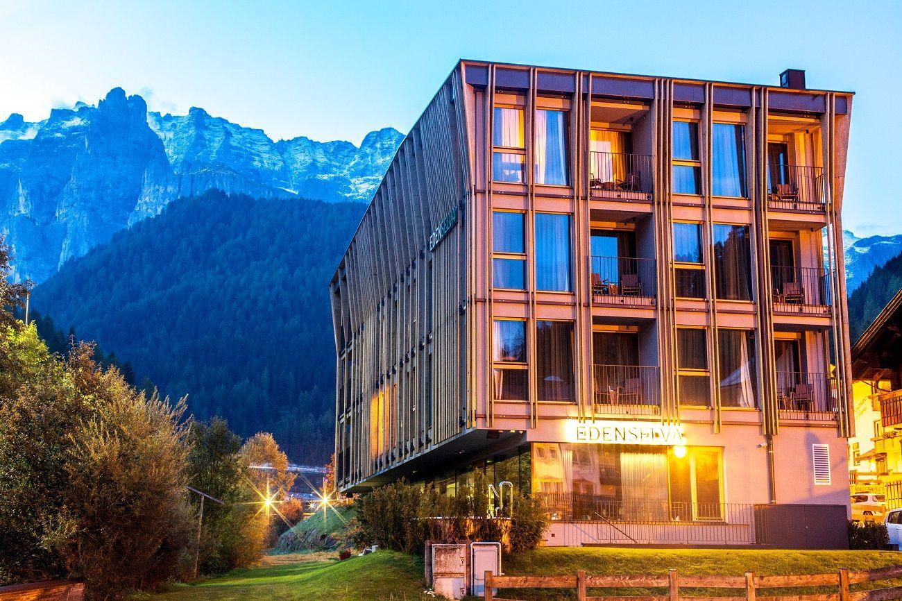 Eden selva mountain design hotel selva di val gardena for Design hotel eden