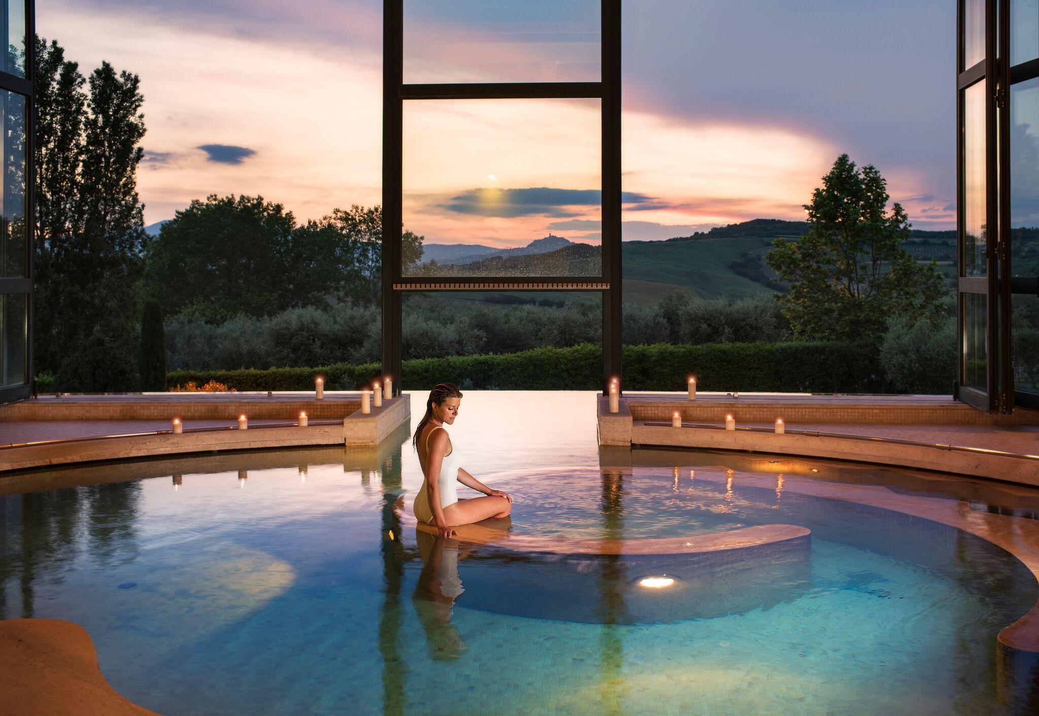 Fonteverde terme hotel san casciano dei bagni siena toscana - Fonteverde spa san casciano dei bagni ...